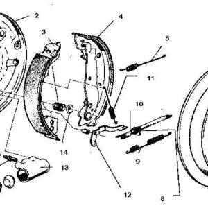 Замена тормозного барабана 1 шт