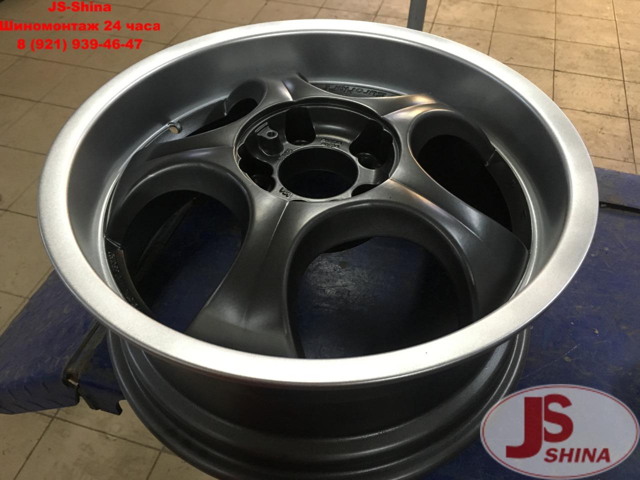 JS-Shina Порошковая покраска дисков по низкой цене в СПб, Пушкине, Колпино