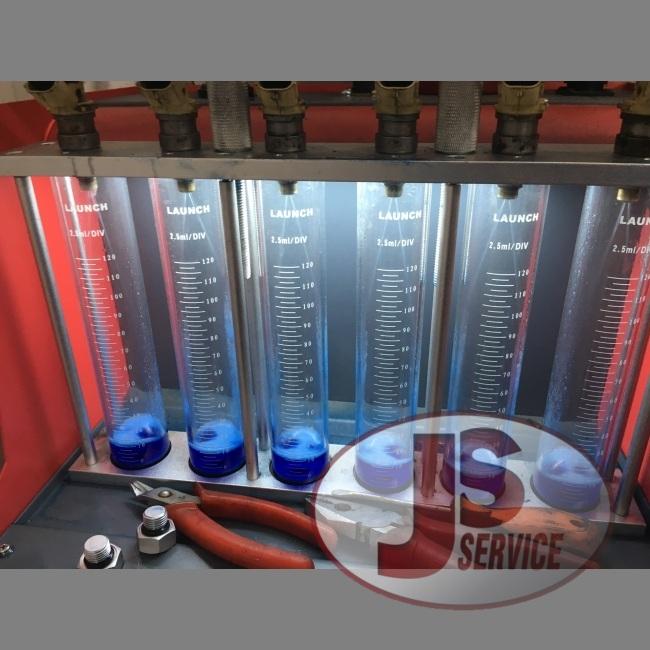 Диагностика топливных форсунок бензиновых