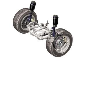 Ремонт передней подвески автомобиля